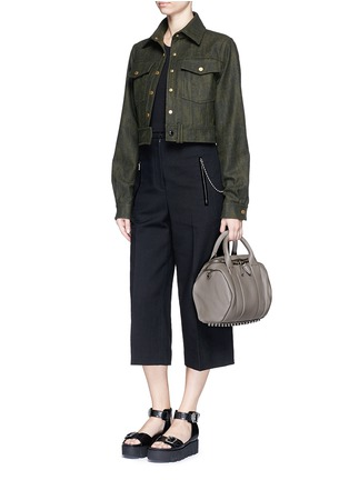 - Alexander Wang  - 'Rockie' pebbled leather duffle bag