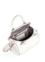 Mini Rockie' pebbled leather duffle bag
