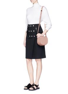 ALEXANDER WANG 'Lia' mini leather saddle sling bag