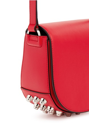 Detail View - Click To Enlarge - Alexander Wang  - 'Lia' mini leather saddle sling bag