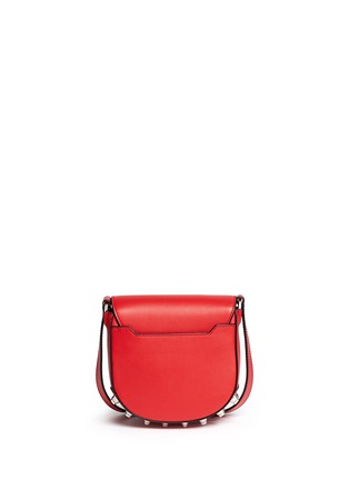 Back View - Click To Enlarge - Alexander Wang  - 'Lia' mini leather saddle sling bag