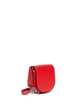 Front View - Click To Enlarge - Alexander Wang  - 'Lia' mini leather saddle sling bag