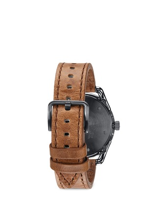 Figure View - Click To Enlarge - Nixon - 'The C39 Leather' watch