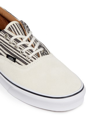 Detail View - Click To Enlarge - Vans - 'Era' tribal stripe print canvas sneakers