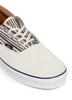 'Era' tribal stripe print canvas sneakers