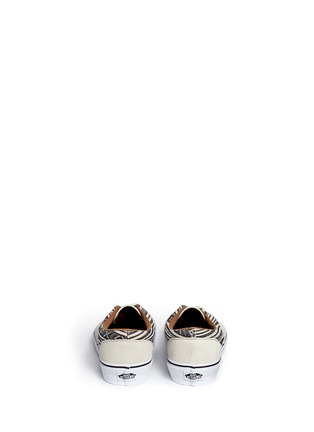 Back View - Click To Enlarge - Vans - 'Era' tribal stripe print canvas sneakers