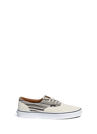 Main View - Click To Enlarge - Vans - 'Era' tribal stripe print canvas sneakers