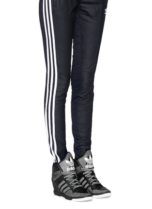 Figure View - Click To Enlarge - Adidas - x Rita Ora 'Attitude Up' concealed wedge leather sneakers