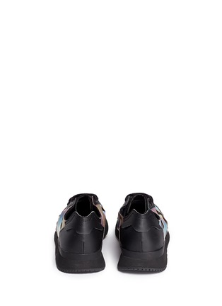 Back View - Click To Enlarge - Adidas - x Rita Ora 'AR-10' metallic strap sneakers