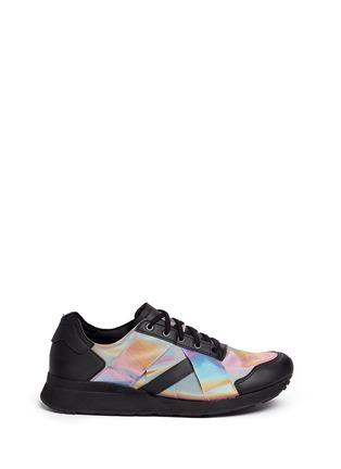 Main View - Click To Enlarge - Adidas - x Rita Ora 'AR-10' metallic strap sneakers