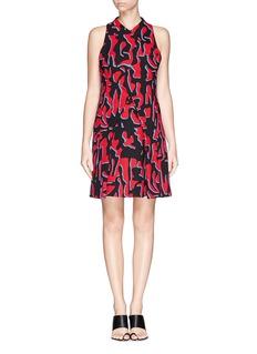 PROENZA SCHOULERLeopard print foldover dress