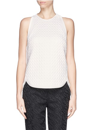 首图 - 点击放大 - 3.1 PHILLIP LIM - Quilted snakeskin effect top