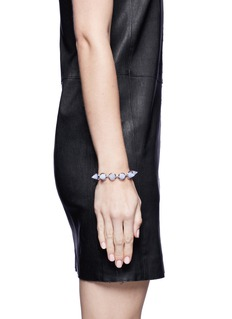 EDDIE BORGOLight purple agate cone bracelet