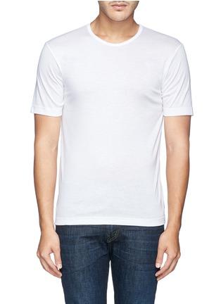 首图 - 点击放大 - ZIMMERLI - 纯棉圆领T恤