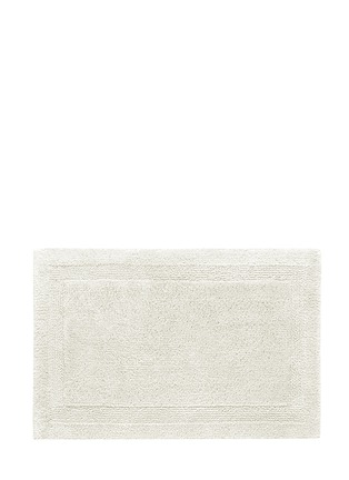 Abyss - Super Pile small reversible bath mat - Ivory