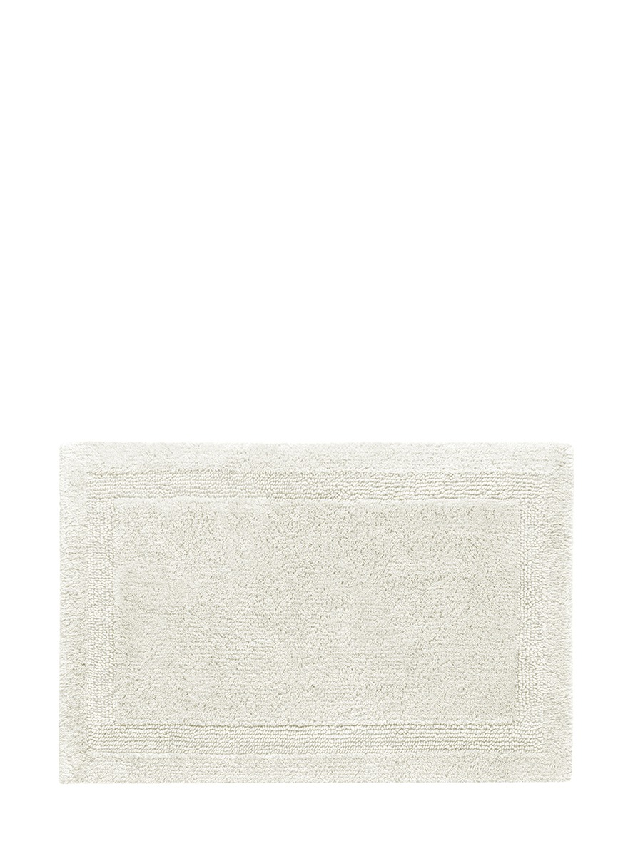 Abyss Super Pile Small Reversible Bath Mat Ivory