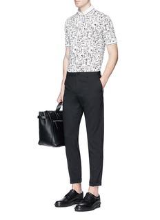 Dolce & GabbanaJazz instrument print polo shirt