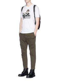 Dolce & GabbanaDesigner DJ appliqué T-shirt