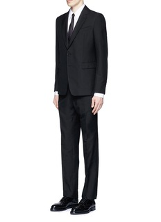Dries Van Noten Diamond jacquard cotton suit