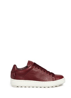 COACH SHOES 'C101' pebbled leather sneakers
