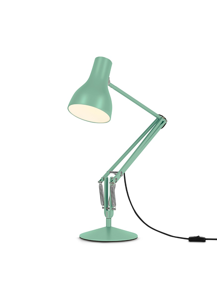 anglepoise female x margaret howell special edition type 75 desk lamp