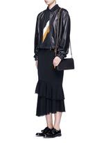 'Dinky' glovetanned leather crossbody bag