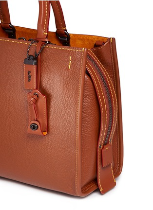 Detail View - Click To Enlarge - Coach - 'Rogue' glovetanned leather bag