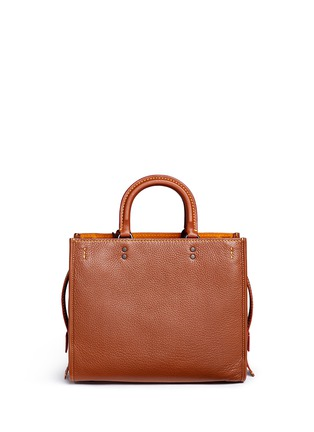Back View - Click To Enlarge - Coach - 'Rogue' glovetanned leather bag