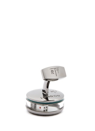 Detail View - Click To Enlarge - Tateossian - 'Poker' dice Perspex® glass cufflinks