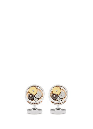 Main View - Click To Enlarge - Tateossian - Gear shirt stud and cufflink set
