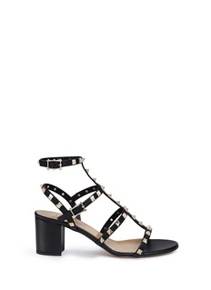 Valentino 'Rockstud' caged leather sandals