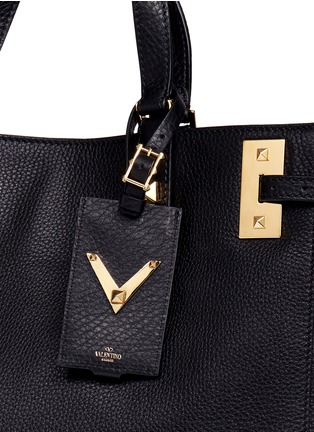 - Valentino - 'My Rockstud' double handle leather tote