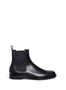 Valentino 'Beatle Rockstud' leather chelsea boots