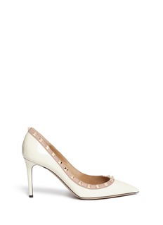 Valentino 'Rockstud' patent leather pumps