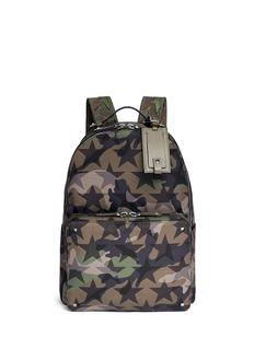 Valentino'Camustars' nylon canvas backpack