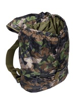 'Camustars' nylon backpack