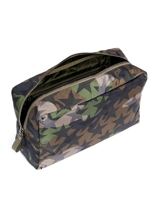 Detail View - Click To Enlarge - Valentino - 'Camustars' washbag