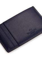 'Rockstud' leather cardholder