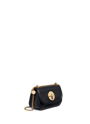 Front View - Click To Enlarge - See by Chloé - 'Lois' turnlock sheepskin leather shoulder bag