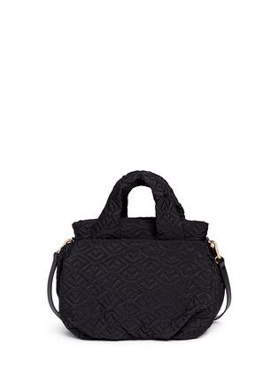 Back View - Click To Enlarge - See by Chloé - 'Bisou' logo stitch shoulder bag