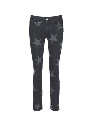 Main View - Click To Enlarge - Stella McCartney - Star print skinny boyfriend jeans
