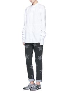 Stella McCartneyStar print skinny boyfriend jeans