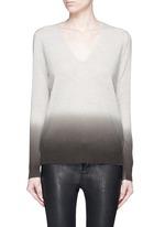 'Adrianna FD' ombré effect cashmere sweater