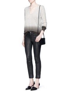 THEORY'Adrianna FD' ombré effect cashmere sweater