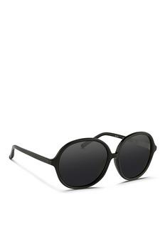 3.1 PHILLIP LIMOversize acetate round sunglasses