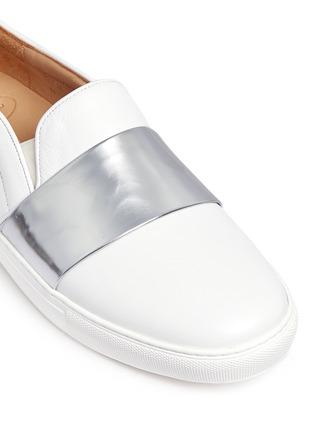 细节 - 点击放大 - BING XU - Tribeca搭带小牛皮平底便鞋