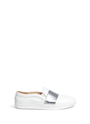 首图 - 点击放大 - BING XU - Tribeca搭带小牛皮平底便鞋