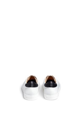 背面 - 点击放大 - BING XU - 小牛皮拼接蛇皮运动鞋