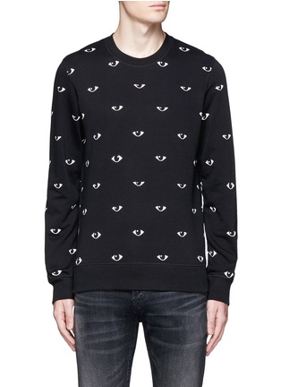 Main View - Click To Enlarge - KENZO - Eye print sweatshirt