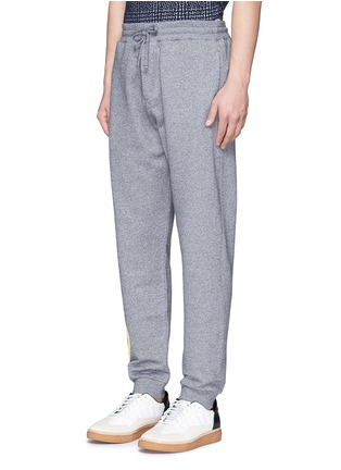 Front View - Click To Enlarge - KENZO - Rubberised logo print sweatpants